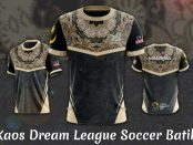 kaos dream league soccer batik