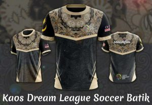 kaos dream league soccer batik