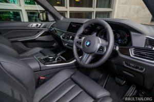 Sumber : paultan.org. 2020 G05 BMW X5 xDrive45e - interior